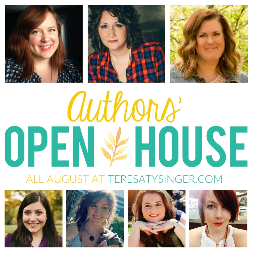 The month-long Author's Open House at https:teresatysinger.com features various Christian authors chatting about books, reading, writing, and more!
