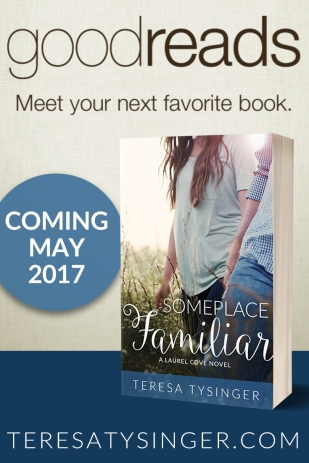 Someplace Familiar by Teresa Tysinger on Goodreads