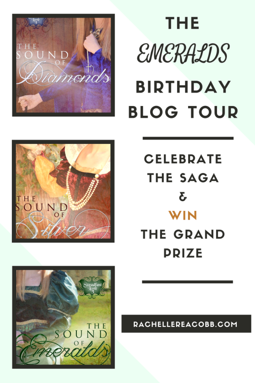 Birthday Blog Tour, The Sound of Emeralds by Rachelle Rae Cobb