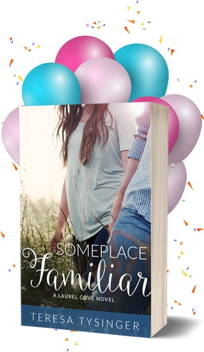 Happy Book Birthday to Someplace Familiar by Teresa Tysinger!