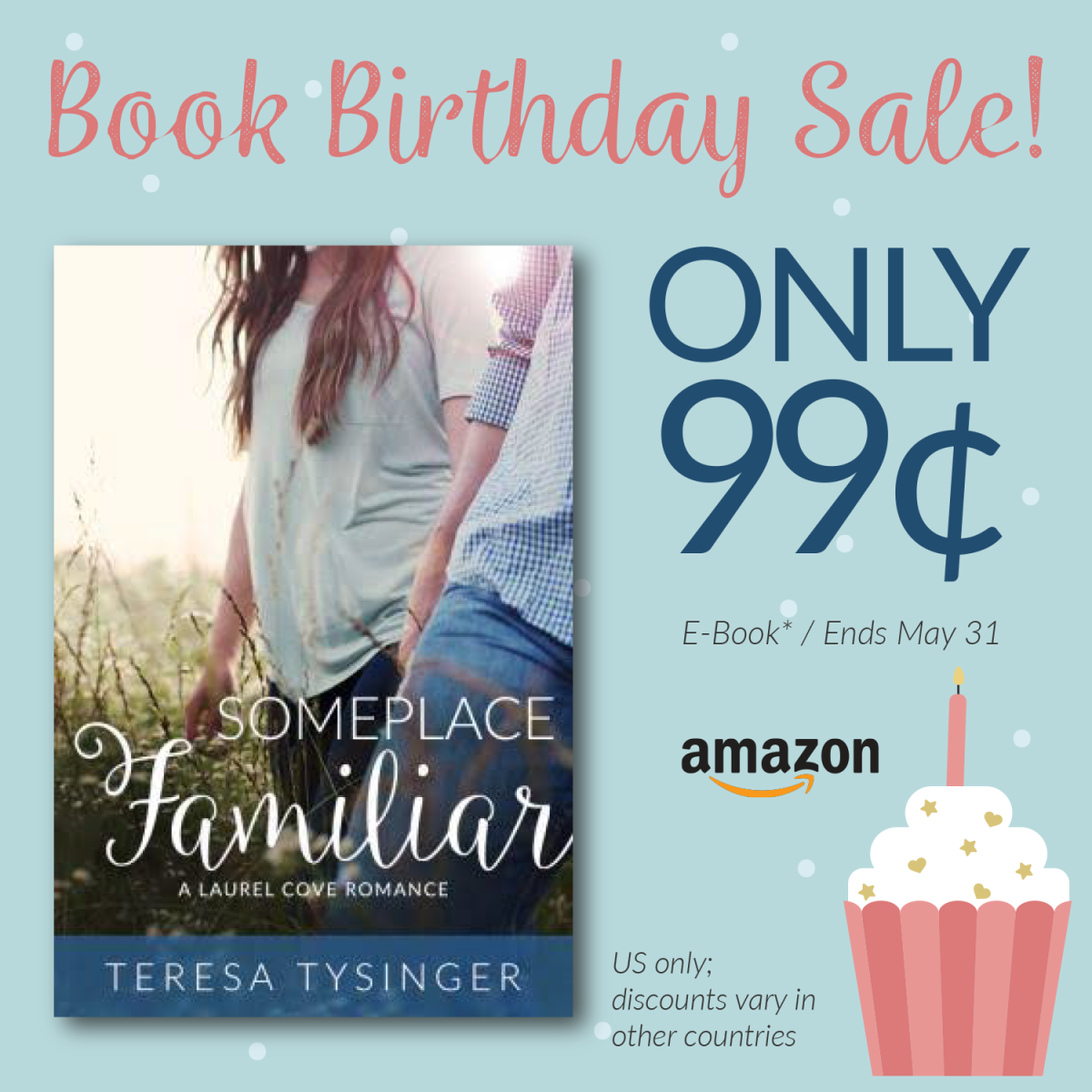 Get Someplace Familiar by Teresa Tysinger for ONLY $0.99 this month!