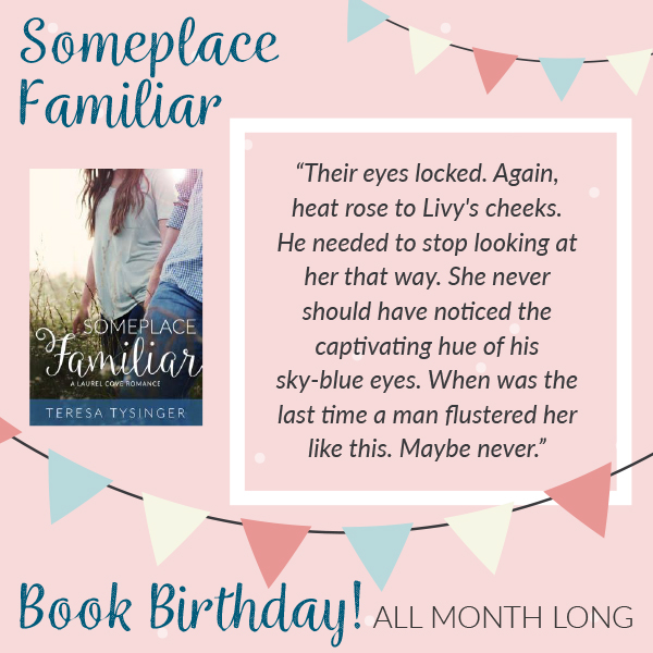 Someplace Familiar is Celebrating it's BOOK BIRTHDAY!