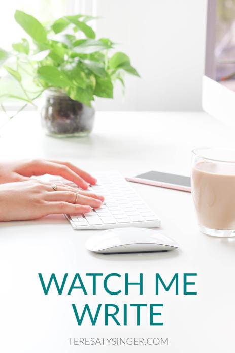 Watch Me Write Blog Post