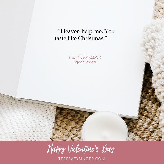 Pepper Basham Quote for Valentine's Day