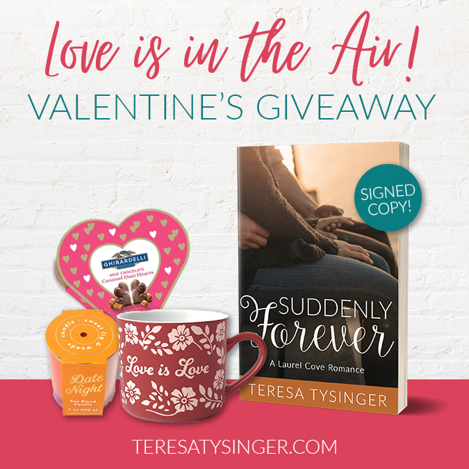 Love is in the Air Valentine's Day Giveaway