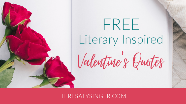 Free Literary Inspired Valentine's Day Quotes